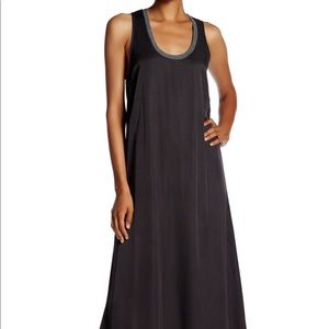 James Perse maxi grey/blue dress